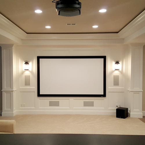 Paramount AV Home Theater Installation